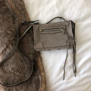 Rebecca Minkoff Avery Suede Crossbody Bag